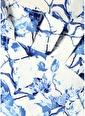 Stella&Amelia Stella&Amelia Conchita   Çiçekli Drapeli Maksi Etek 101312122 Mavi